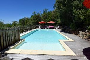 gite avec piscine