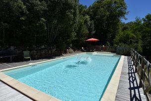 Notre piscine en Dordogne